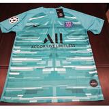 Camisa Psg Keylor Navas Edicion Champions