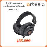 Audífonos  Monitoreo Estudio Amh122 Marca Artesia