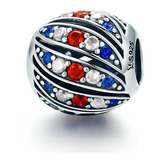C R Charms Tricolor, Super Original, Para Pulseras Pandora