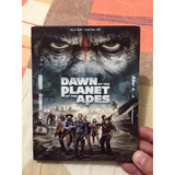 Dawn Of The Planet Of The Apes.   Original Blu Ray