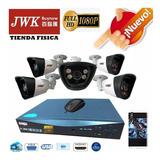 Kit Camaras Seguridad 4 Camaras Bullet Ahd 1080p Jwk Vision