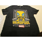 T Shirt De La Caja Marvel Collector Corps Deadpool Talla L
