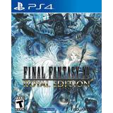 Final Fantasy Xv Royal Edition Playstation 4
