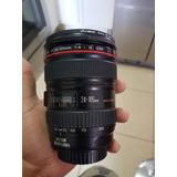 Lente Canon Ef  24-105mm F4 L Is Usm