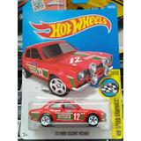 Hot Wheels 70 Ford Escort Rs1600