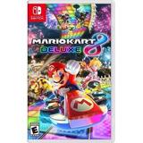 Mario Kart 8 Deluxe Para Nintendo Switch Nuevo Y Sellado