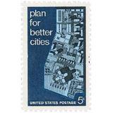 Us Sc #1333 - 1967 5c Urban Planning Con Matasello.