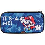 Estuche Nintendo Switch Mario Azul