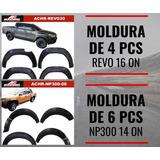 Moldura O Flyers Para Nissan Np300 Y Hilux Revo Ac Racing