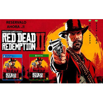 *** Red Dead Redemption 2 - Ps4 Fisico Ya Tico Electrox ***