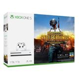 Xbox One S 1tb + Pubg + 7 Jgs Digitales + Financiami
