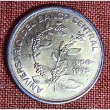 Moneda De Costa Rica 25 Aniversario Bccr Mata De Café Jmg