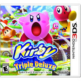 Kirby Triple Deluxe - Nintendo 3ds Usado