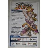 Poster Del 4to Festival Manga Cartago 2006. Anime Manga