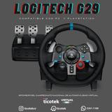 Set De Volante Y Pedales Logitech G29 Driving Force Ticotek