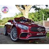 Carrito Electrico De Ninos Mercedes-benz Sl65 Amg Licenciado