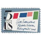 Us Sc #1310 - 1966 5c Sipex Stamp Con Matasello.