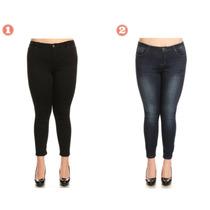 Jeans Talla Plus Talla Grande  Para Dama Plus Size Boutique