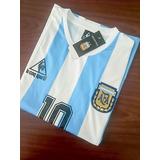Camiseta Argentina 1986 (diego Maradona)