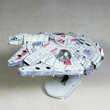 Aipin Diy 3d Puzzle Kit Acero Inoxidable Aircraft Star Wars