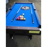 Mesa De Pool Billar Ping Pong Futbolin Hockey