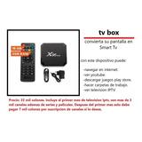 Tv Box Con 1 Mes Canales Incluidos