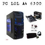 Computadora  Amd A4 7300 3.8ghz - Nuevo