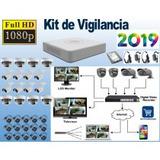 Sistema Vigilancia Hikvision 16 Cámaras Hd 1080p 1tb 305.8