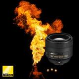 Nikon 85mm Af-s F/1.8g Objetivo Lente Dx / Fx - Inteldeals