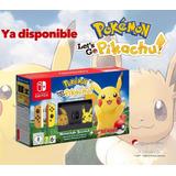 Nintendo Switch Pikachu & Eevee Edition, Nuevos