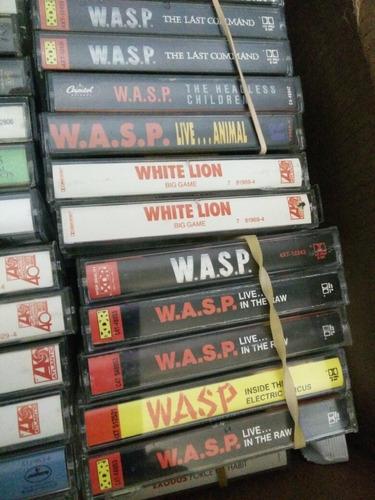 Cassettes De Rock Desde 1500