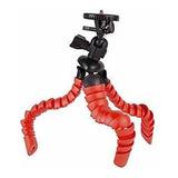 Tripode Flexible Pro Vivitar Viv-sp-12-red Con Soporte