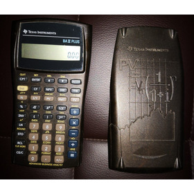 Calculadora Texas Instruments Ba Ii Plus