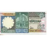 Billete De Libia 1/4 De Dinar Unc Apo