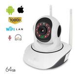 Camara Seguridad  Wifi 1080p Hd  Nocturna Motorizada