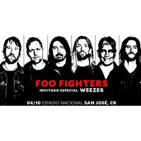 2 Entradas Foo Fighters Weezer. Sombra Este.