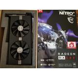 Tarjeta De Video - Sapphire - Radeon Nitro+ Rx 580 8gb-usada