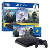 Playstation 4 Slim Ps4 1tb -bundle Hits 3 Juegos Nuevo