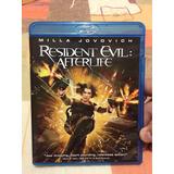 Resident Evil Afterlife.   Original Blu Ray