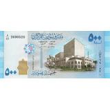 Billete De Siria 500 Libras Unc Apo
