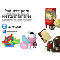 Paquetes Con Golosinas Y Alquiler De Inflables