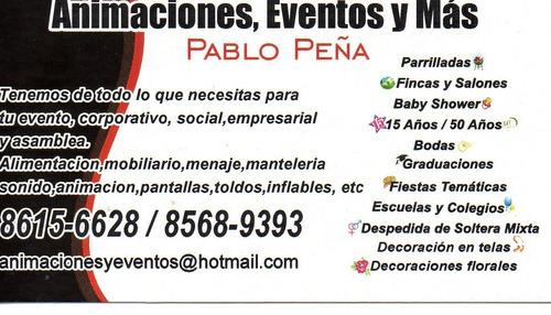 Animaciones, Sonido Y Karaokes Pablo Peña