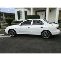 Hyundai Elantra Color Blanco Año 2000