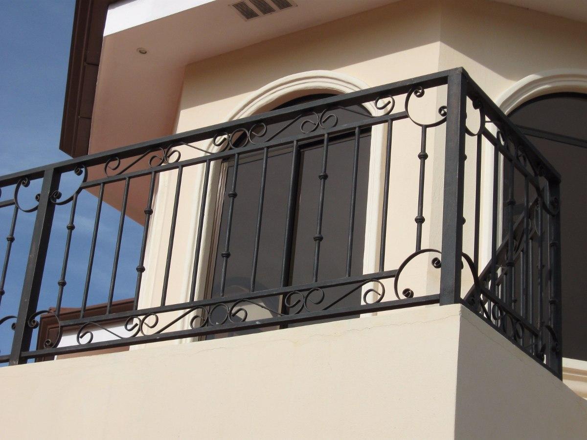 Hierro forjado barandas pergolas portones clasf genuardis - Barandas para escaleras de hierro ...