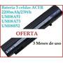 Batería Original Acer Aspire One Laptop Tres Celdas Portátil