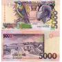Billete De Santo Tomas Y Principe 5000 Dobras Unc