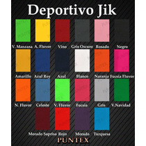 Camisetas Deportivas Jik, Dry Fit, Irazu Quiana Y Mas...