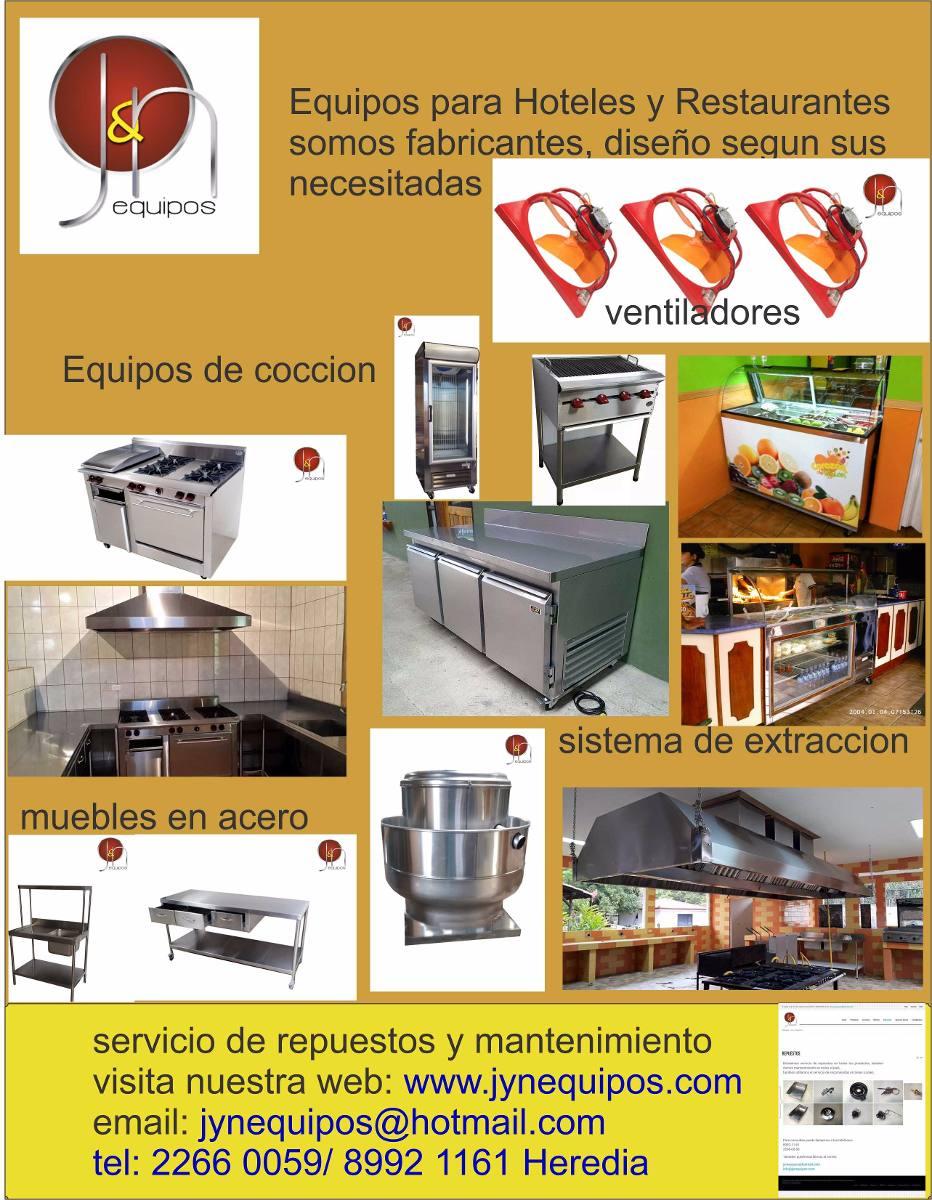 Equipos para restaurantes equipos sodas cocinas san for Equipos restaurante