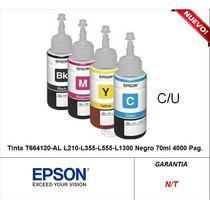 Tinta En Botella Para L120 L210 L355 L555 Epson Original