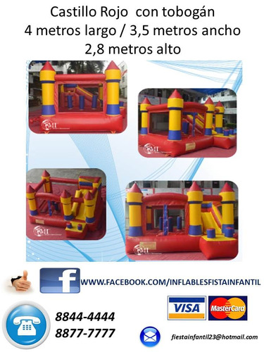 Inflables Fiesta Infantil Precios Buenos